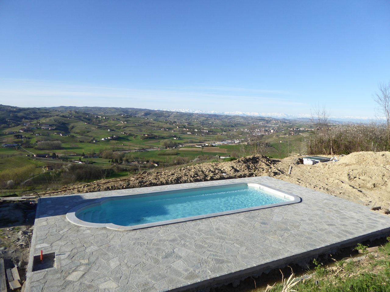 Geschichte villa loreto ferienhaus piemont italien - Piscina baldoni loreto ...